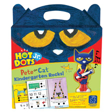 Hot Dots® Jr. Pete the Cat® Kindergarten Rocks! Set + Pen