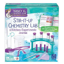 Nancy B's Science Club™ Stir-It-Up Chemistry Lab & Kitchen Experiments Journal