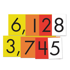 Sensational Math™ 4-Value Whole Numbers Place Value Cards Set