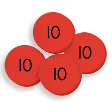 Sensational Math™ 100 Tens Place Value Discs Set