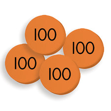 Sensational Math™ 100 Hundreds Place Value Discs Set
