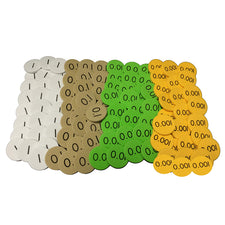 Sensational Math™ 4-Value Decimals To Whole Number Place Value Discs, 12-Pack