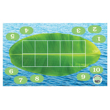 Sensational Math™ Froggy Ten-Frame Floor Mat