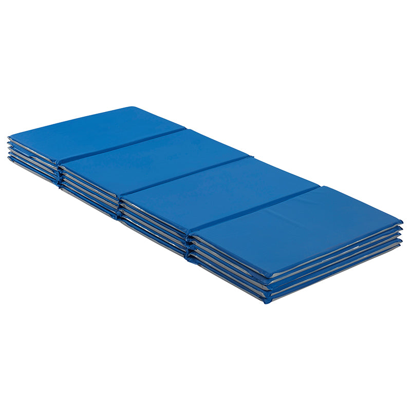 "Value Folding Rest Mat, 4-Section, 5/8"" (5 Count)"
