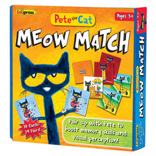Pete the Cat® Meow Match Game