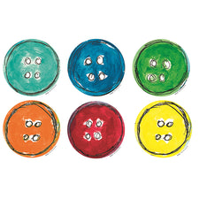 Pete the Cat® Groovy Buttons Bulletin Board Accents