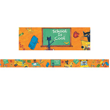 Pete the Cat® School is Cool Spotlight Borders™