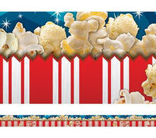 Layered Popcorn Bulletin Board Border, Straight