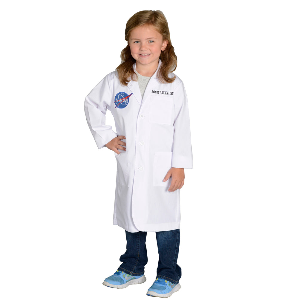 Aeromax Rocket Scientist Lab Coat, Size 4/6