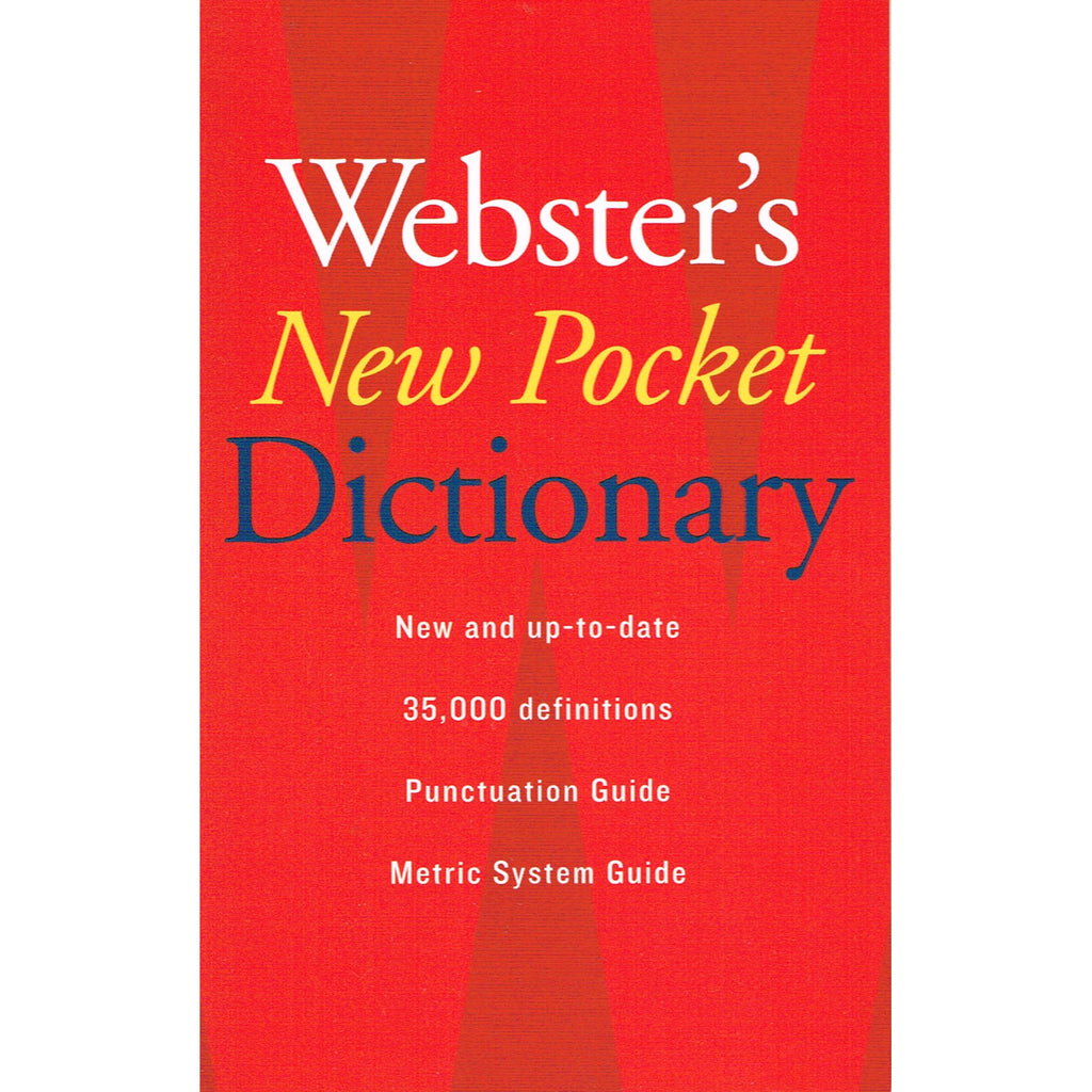 Houghton Mifflin Harcourt Websters New Pocket Dictionary