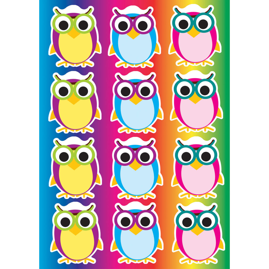 Ashley Productions Magnetic Colorful Owls