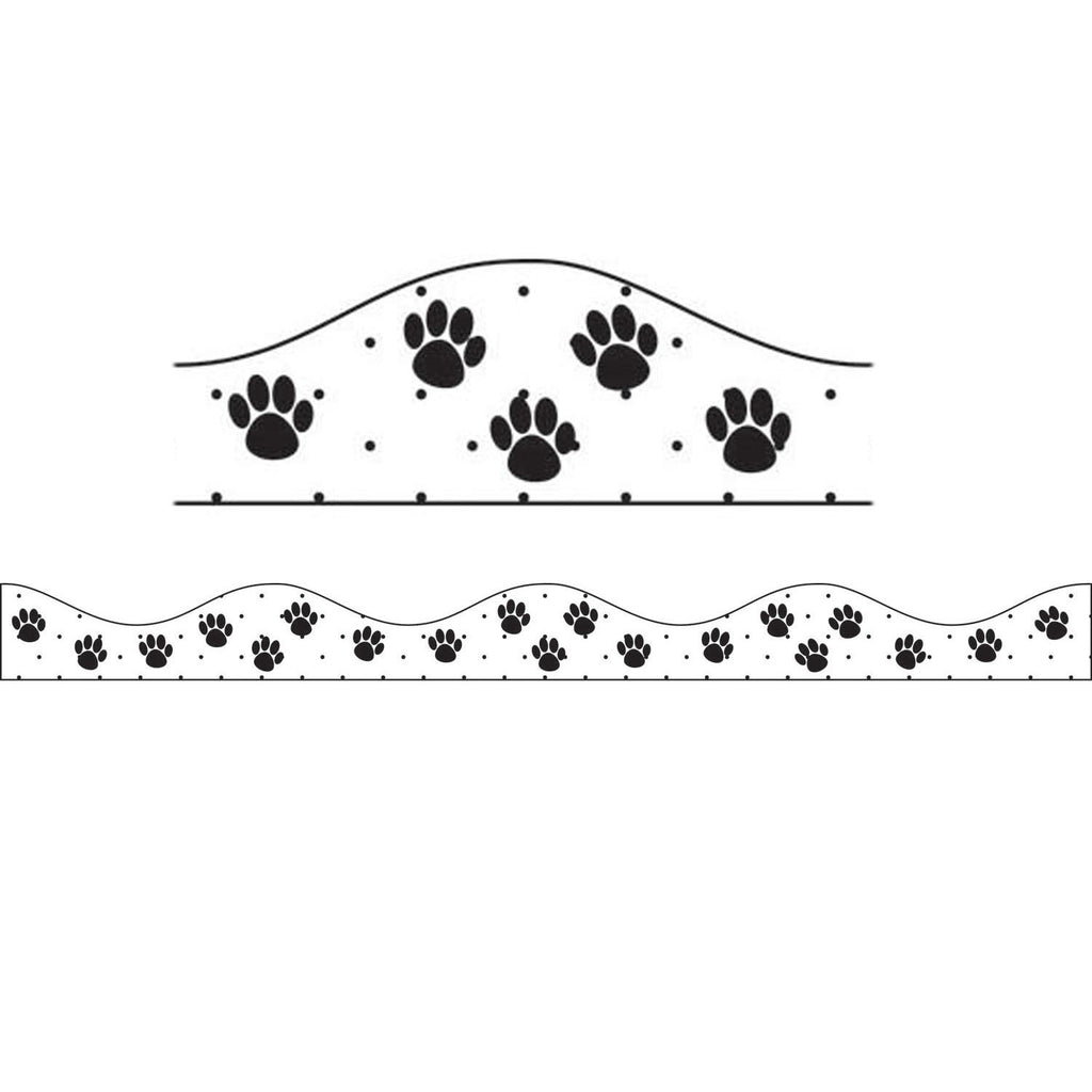 Ashley Productions Black Paws Magnetic Border