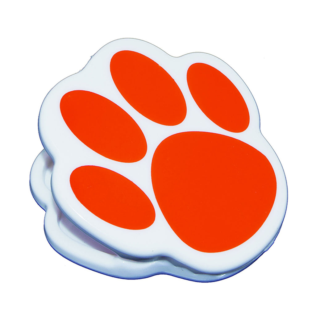 Ashley Productions Orange Paw Magnet Clip