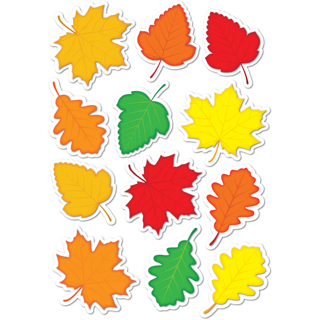 Ashley Productions Die-Cut Magnetic Fall Leaves