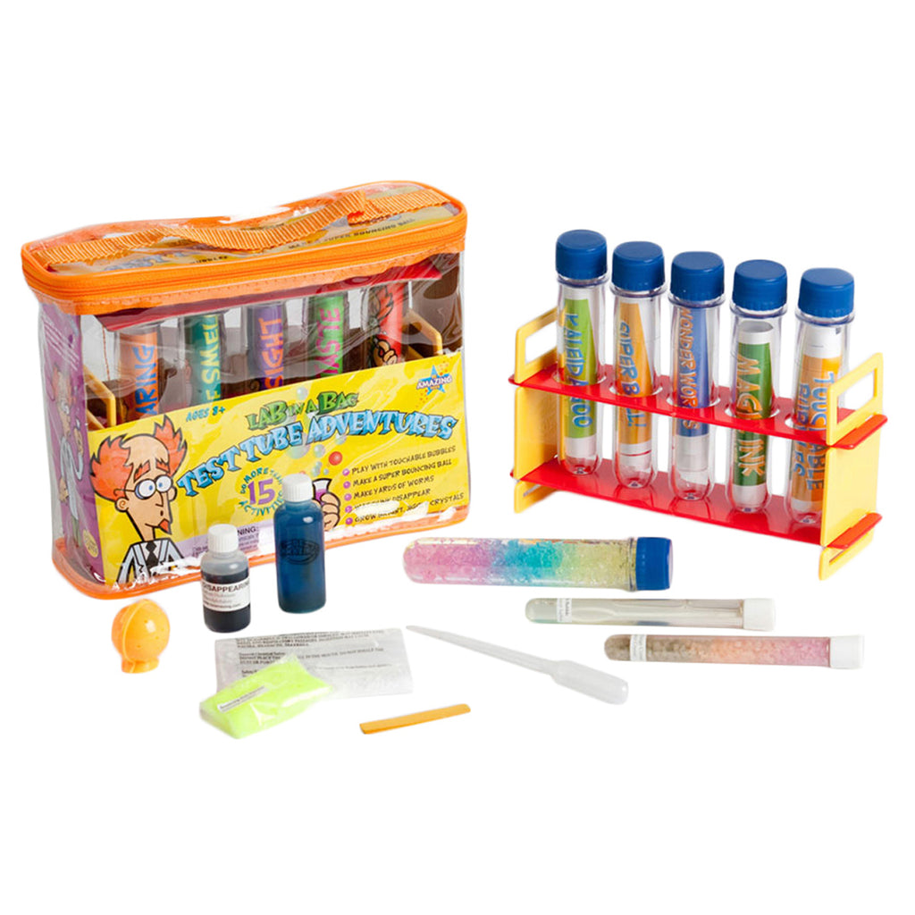 Be Amazing! Toys Test Tube Adventures Lab-In-A-Bag