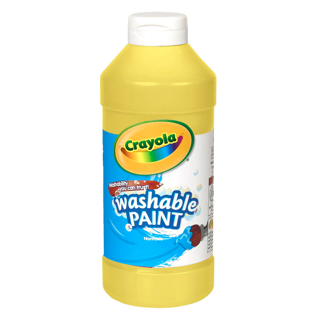 Crayola® Washable Paint 16 Oz Yellow