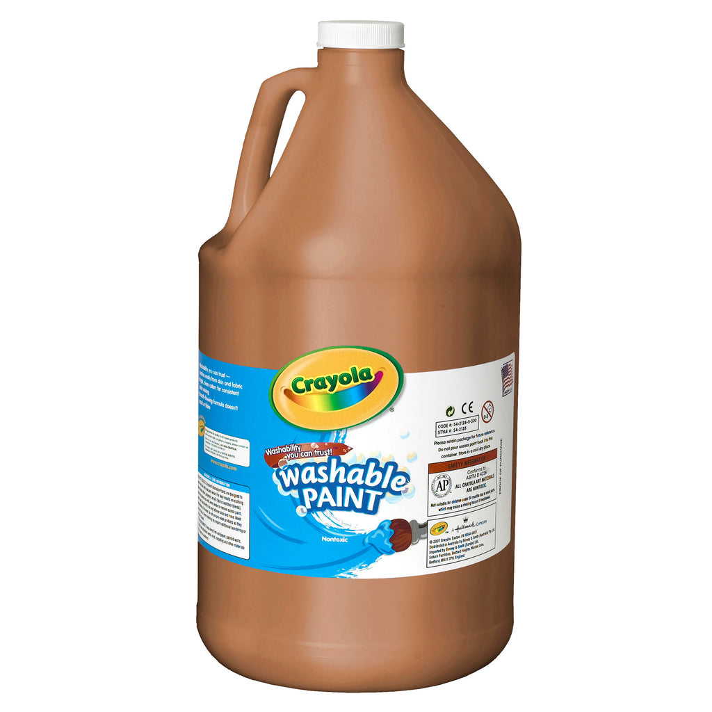 Crayola® Washable Paint Gallon Brown