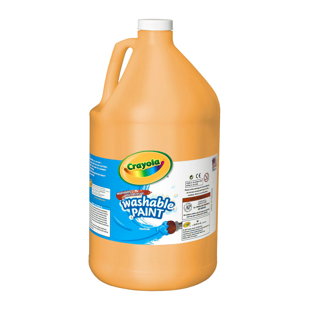 Crayola® Washable Paint Gallon Peach