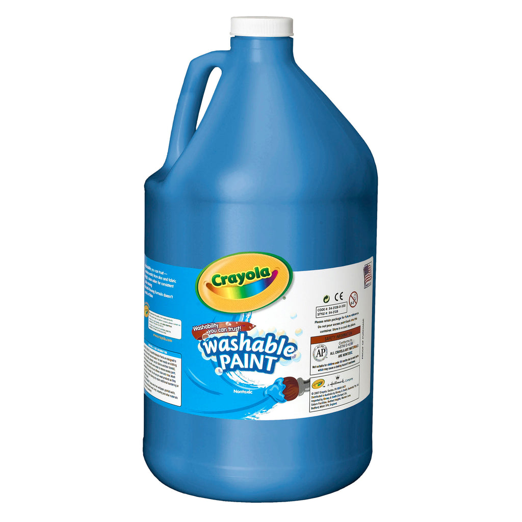 Crayola® Washable Paint Gallon Blue
