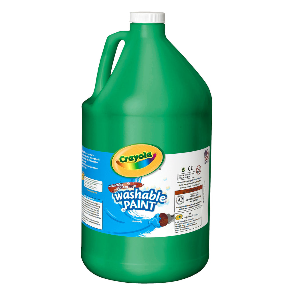 Crayola® Washable Paint Gallon Green