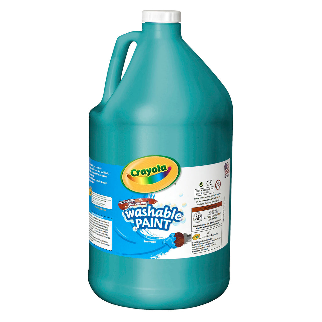 Crayola® Washable Paint Gallon Turquoise