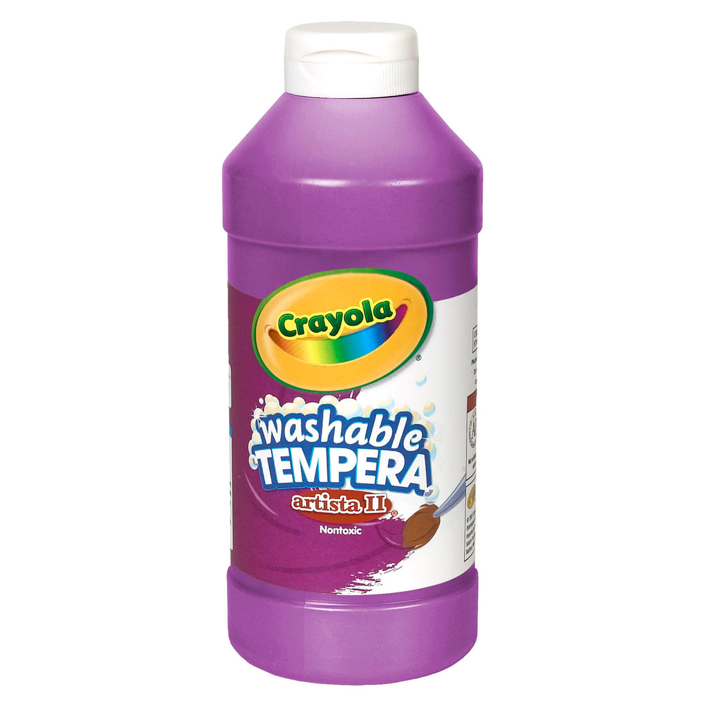 Crayola® Artista II Tempera 16 Oz Violet Washable Paint