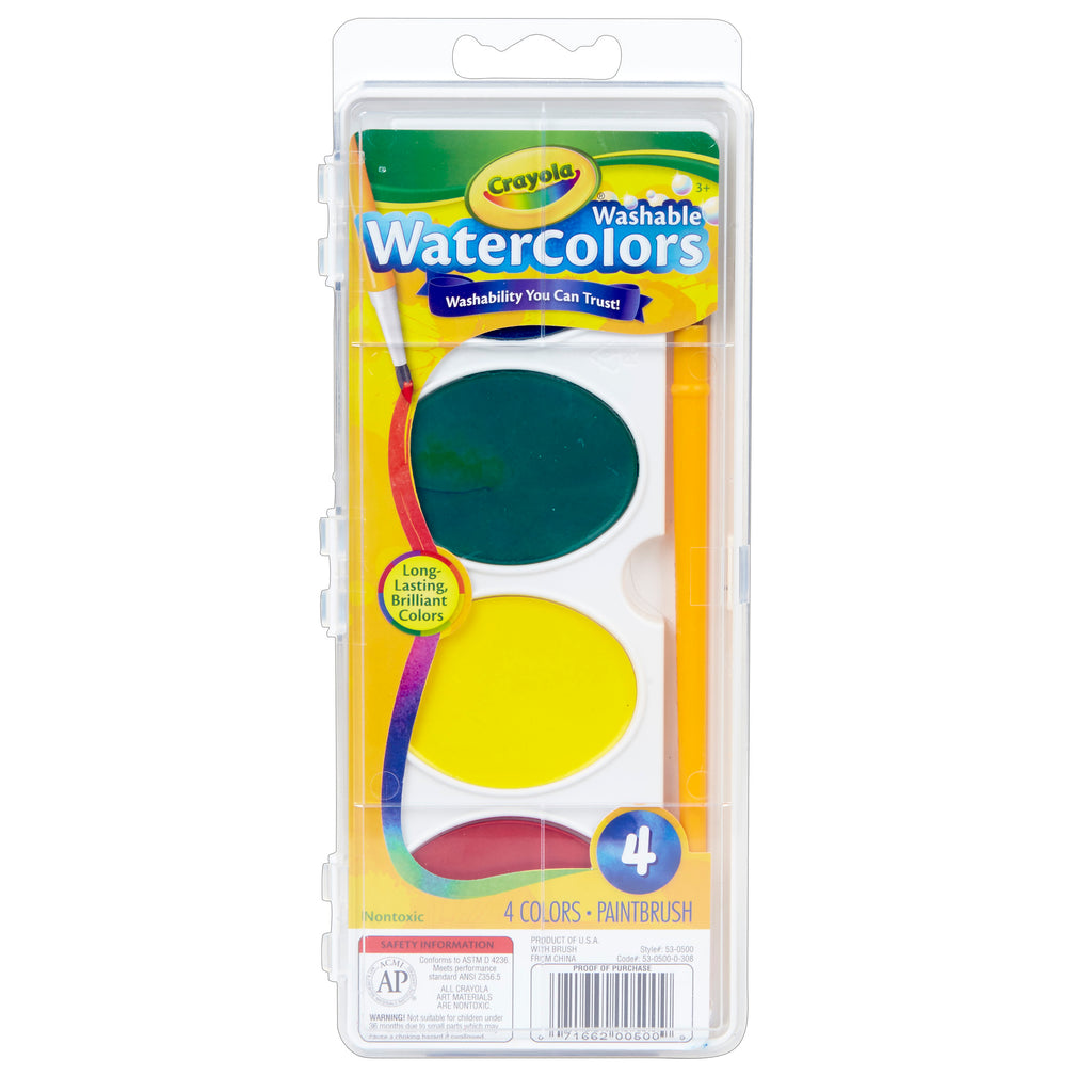 Crayola® So Big Washable Watercolors