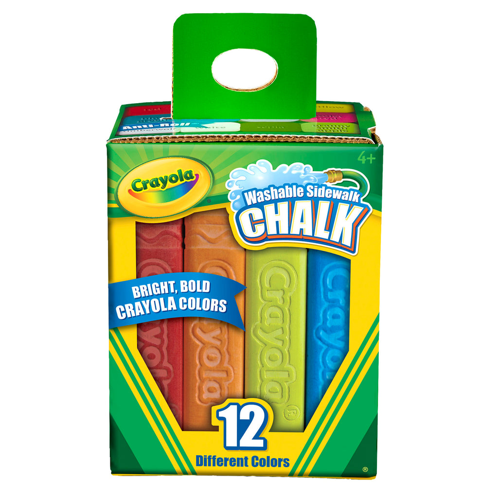 Crayola® Washable Sidewalk Chalk 12 Count