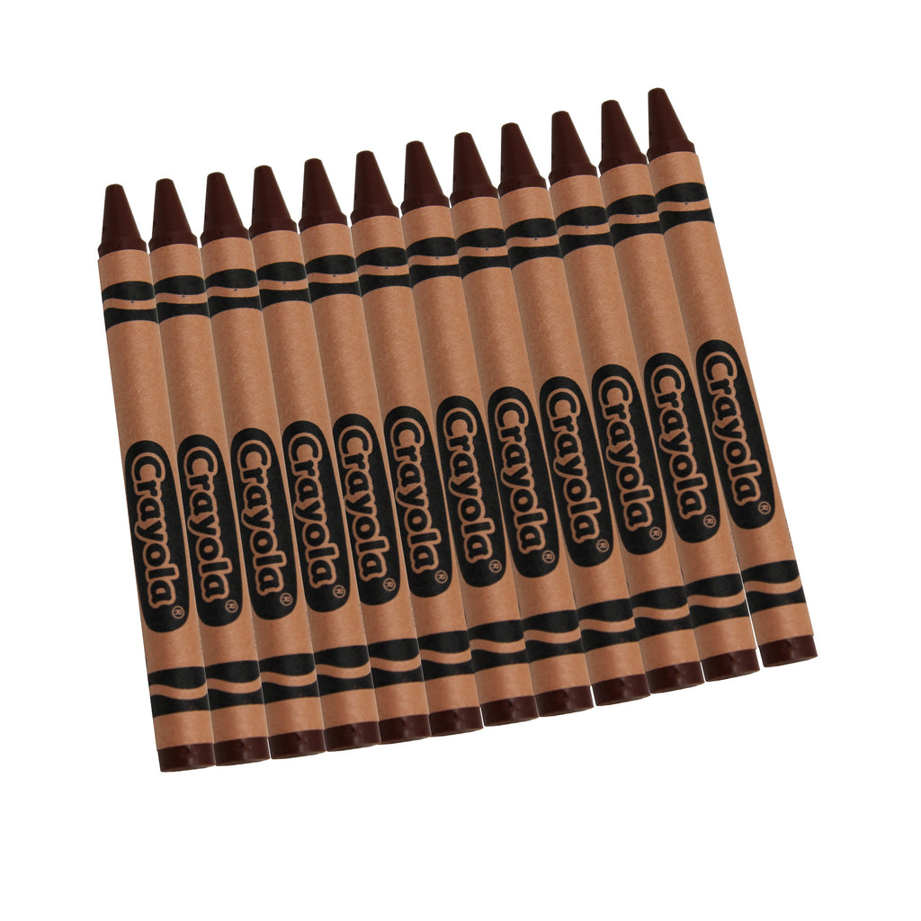 Crayola® Bulk Brown Crayons, 12 Count