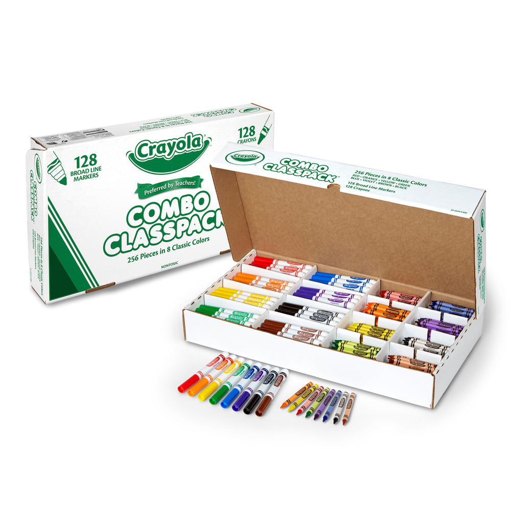 Crayola® My First Crayola® Combo Classpack, 256 Count
