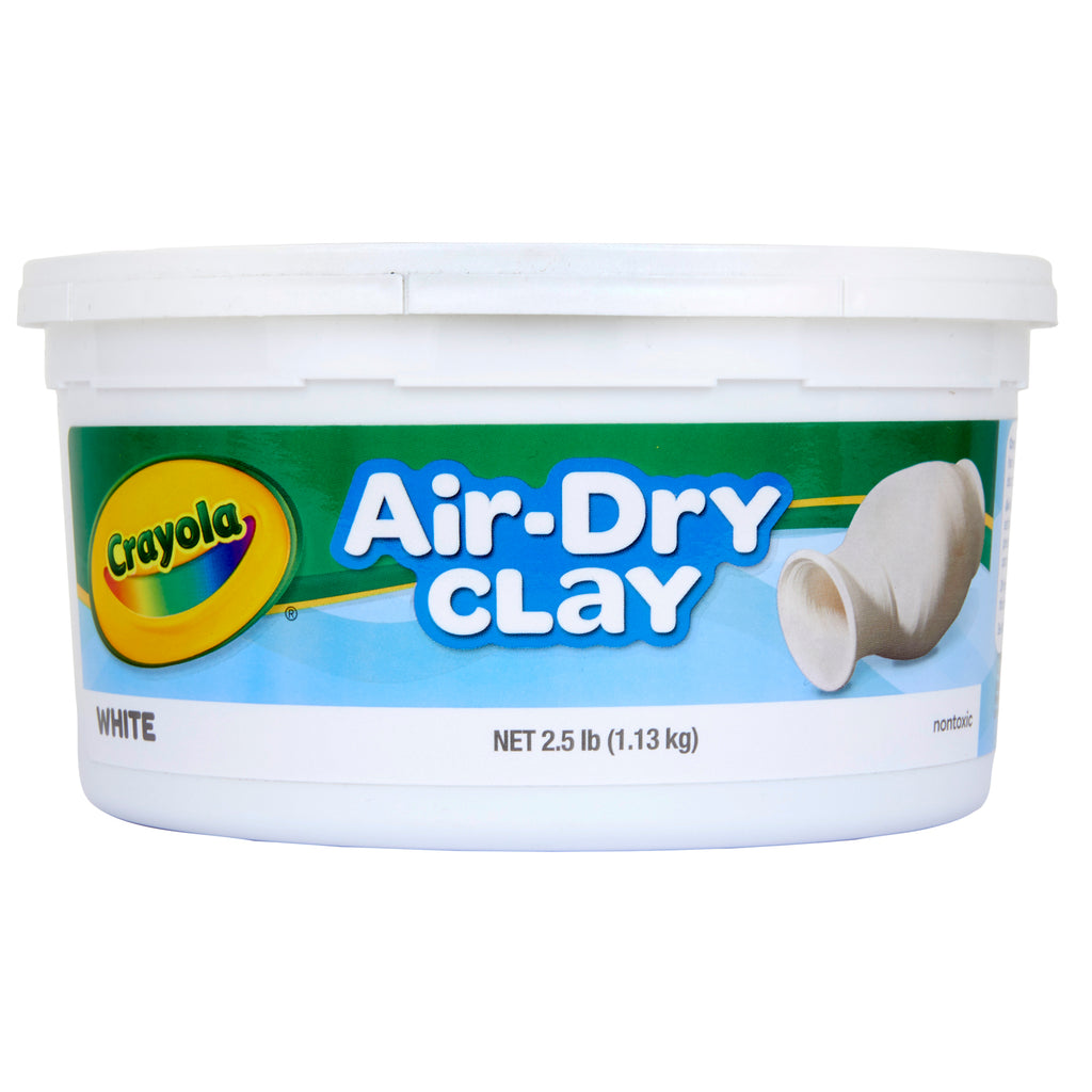 Crayola® Air Dry Clay 2.5 Lbs White