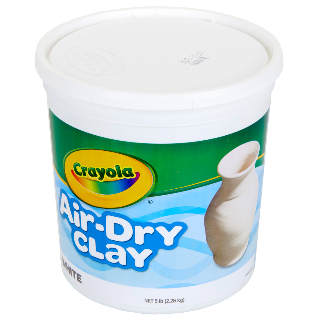 Crayola® Air Dry Clay 5 Lbs White