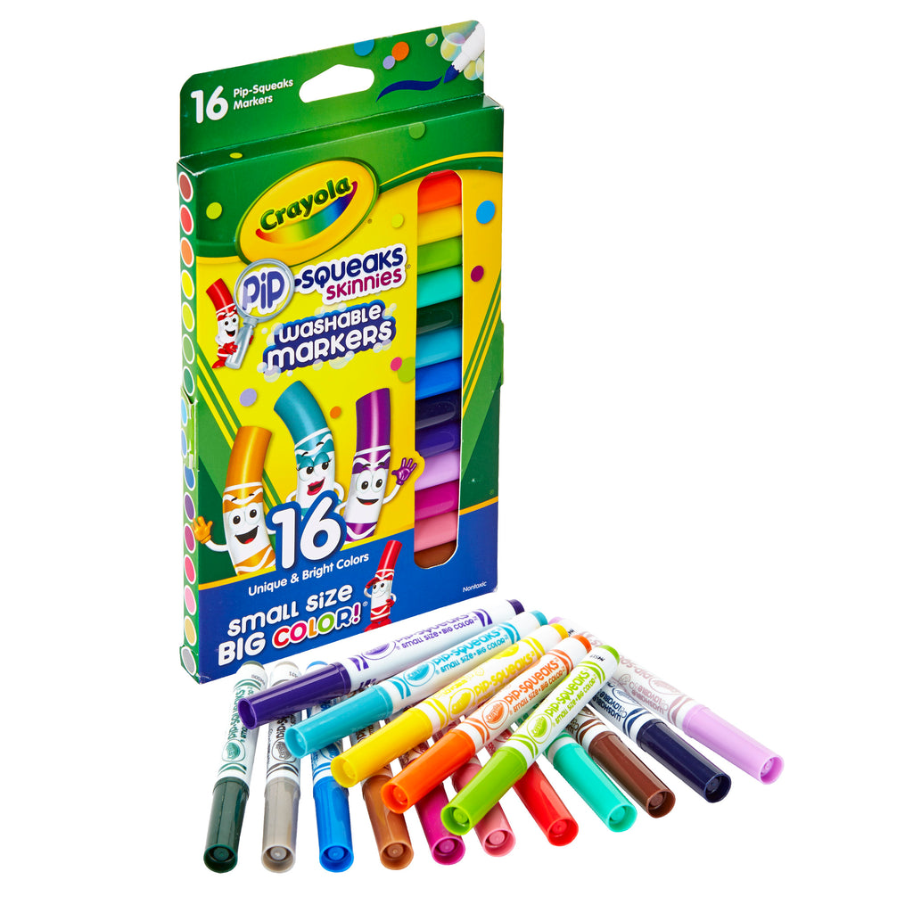 Crayola® 16 Count Pip Squeaks Skinnies Markers