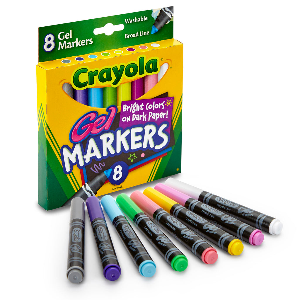 Crayola® 8 Count Gel Fx Washable Markers