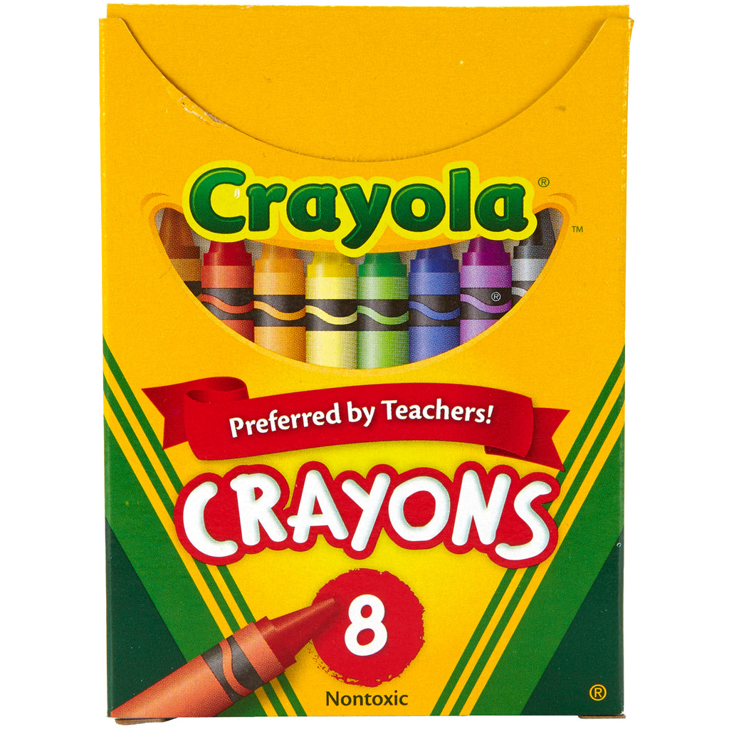 Crayola® Regular Size 8 Colors