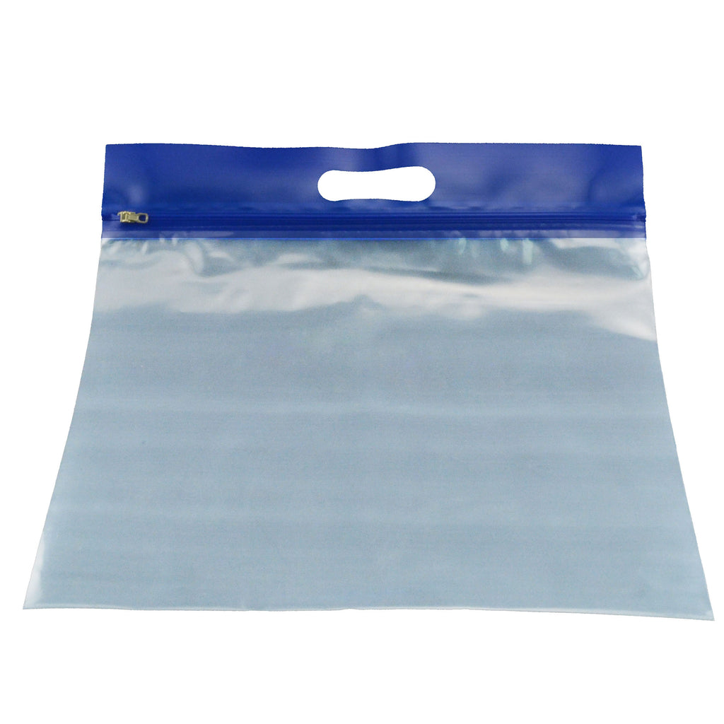 Bags of Bags Zipafile Storage Bags 25Pk Blue