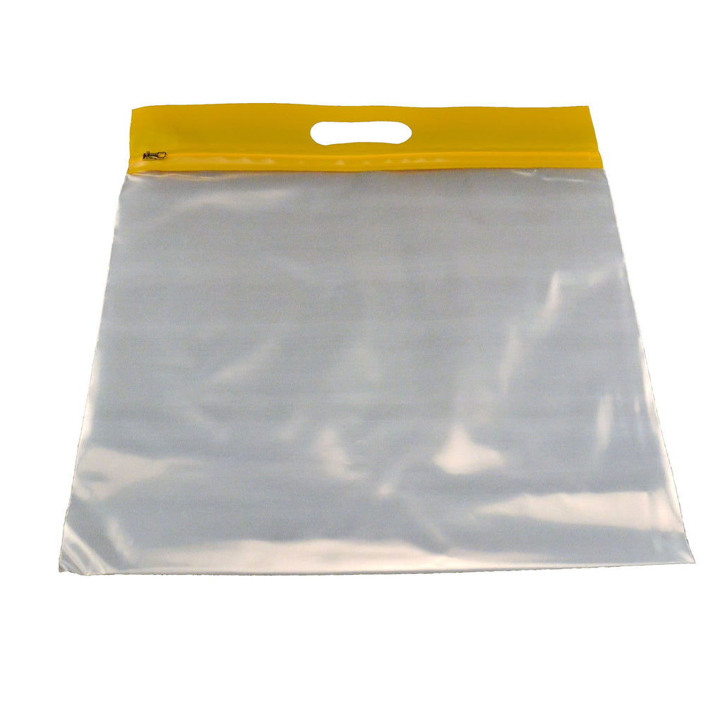 Bags of Bags Zipafile Storage Bags 25Pk Yellow