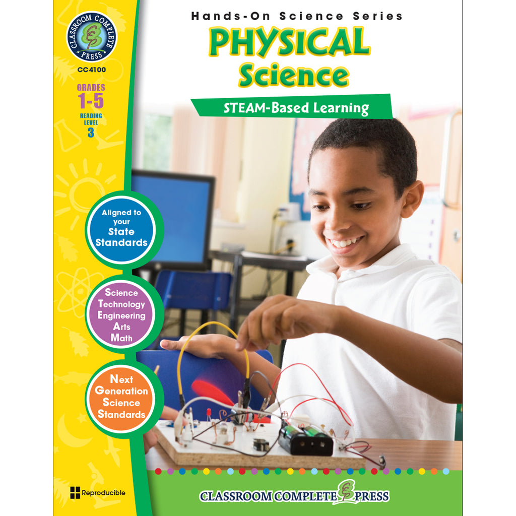 Classroom Complete Press Hands-On STEAM - Physical Science