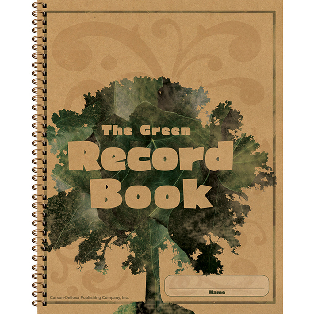 Carson Dellosa The Green Record Book