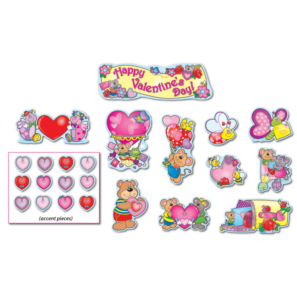 Carson Dellosa Valentine's Day Mini Bulletin Board Set