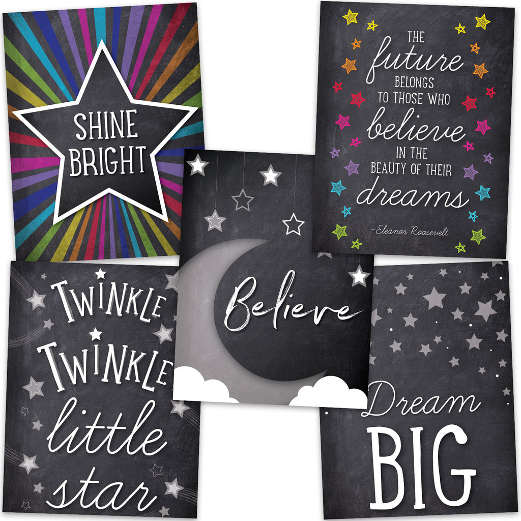Carson Dellosa Twinkle Twinkle You're A STAR! Chart Set