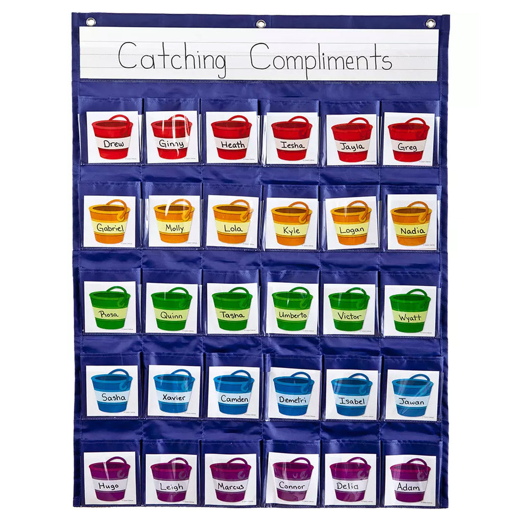 Carson Dellosa Positive Reinforcement Pocket Chart