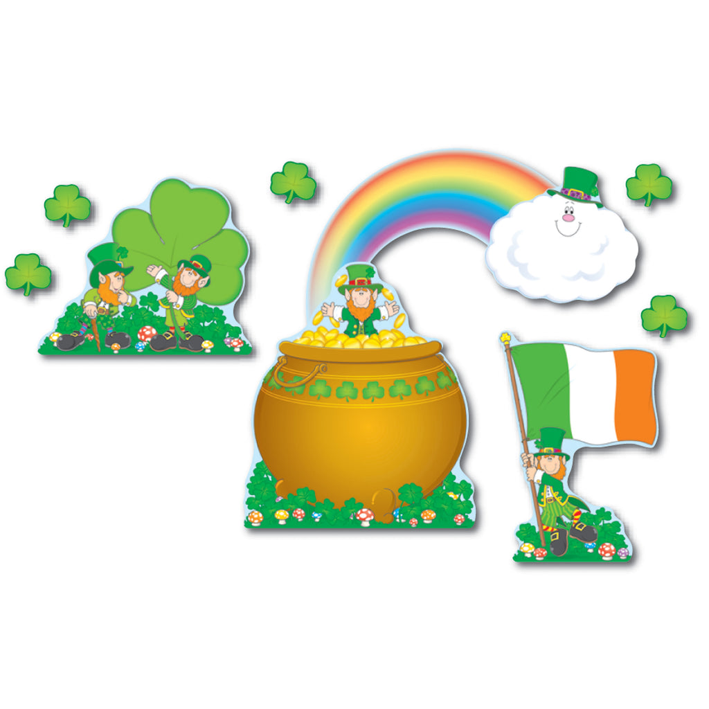 Carson Dellosa St. Patrick's Day Bulletin Board Set