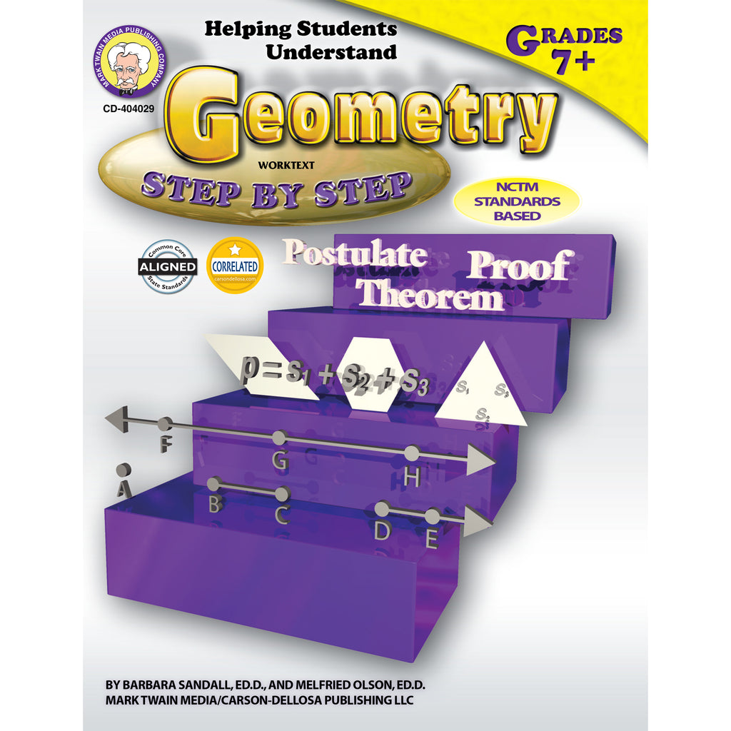 Carson Dellosa Helping Students Understand Geometry Resource Book