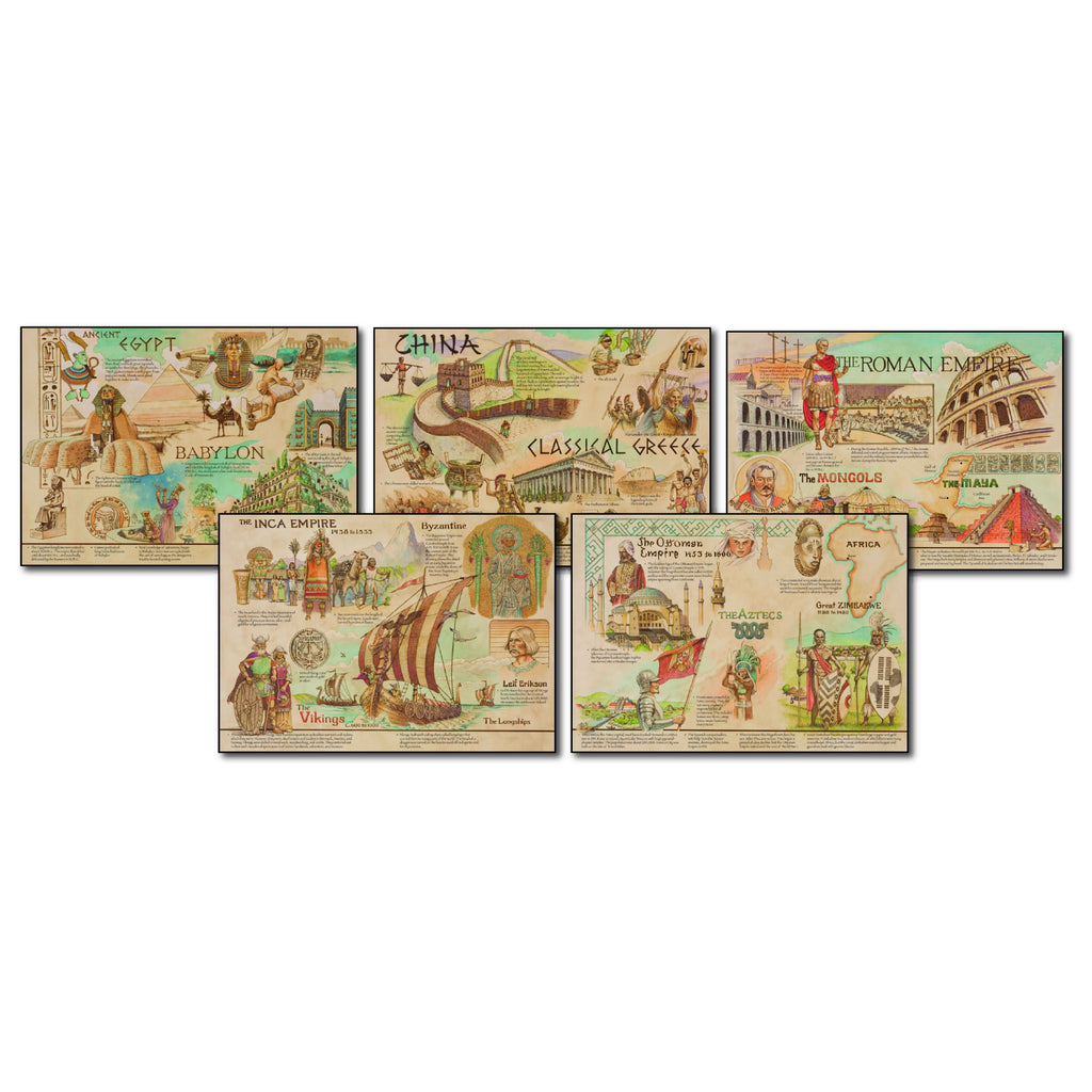 Carson Dellosa Ancient Civilizations and Cultures Topper Bulletin Board Set