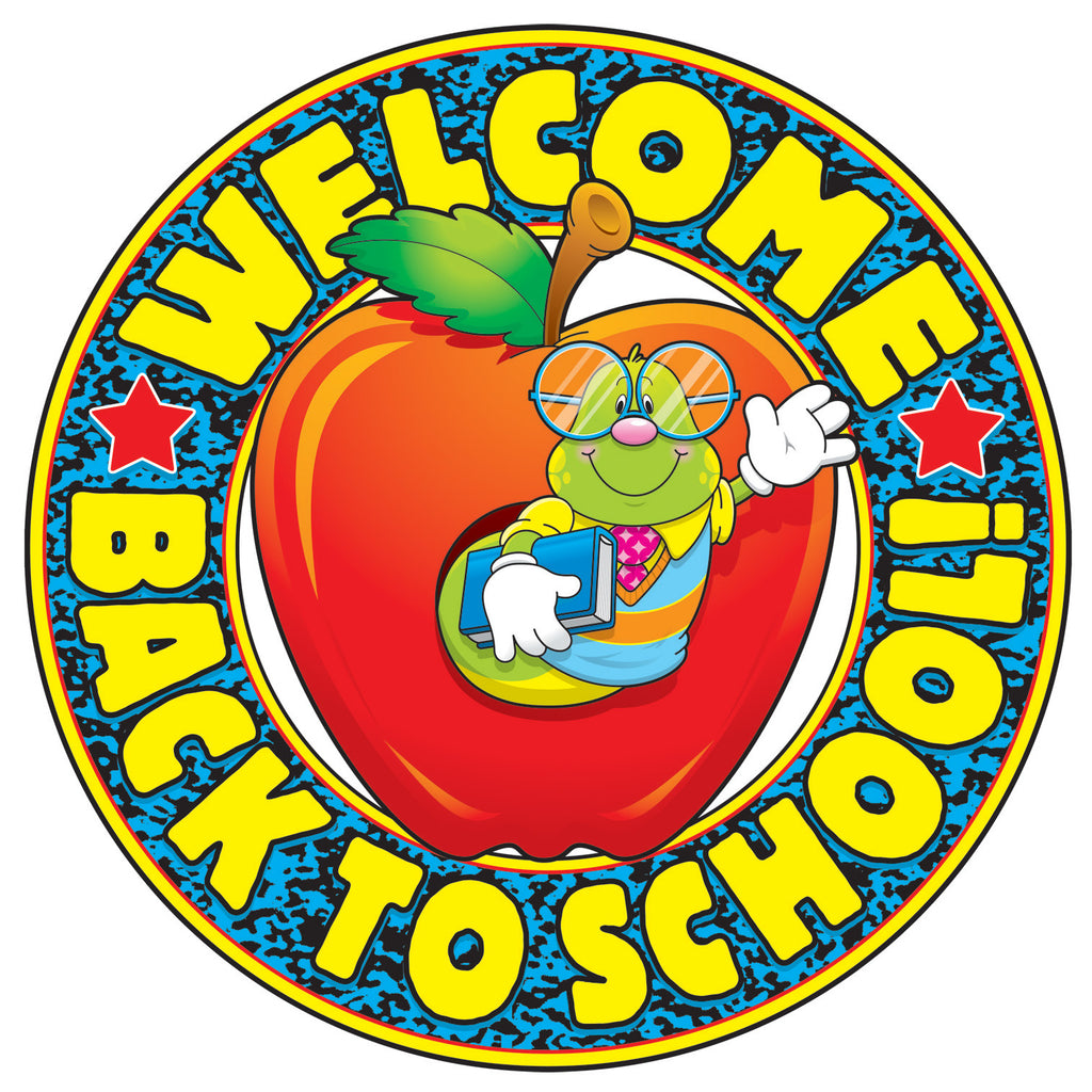 Carson Dellosa Welcome Back to School! Two-Sided Decorations