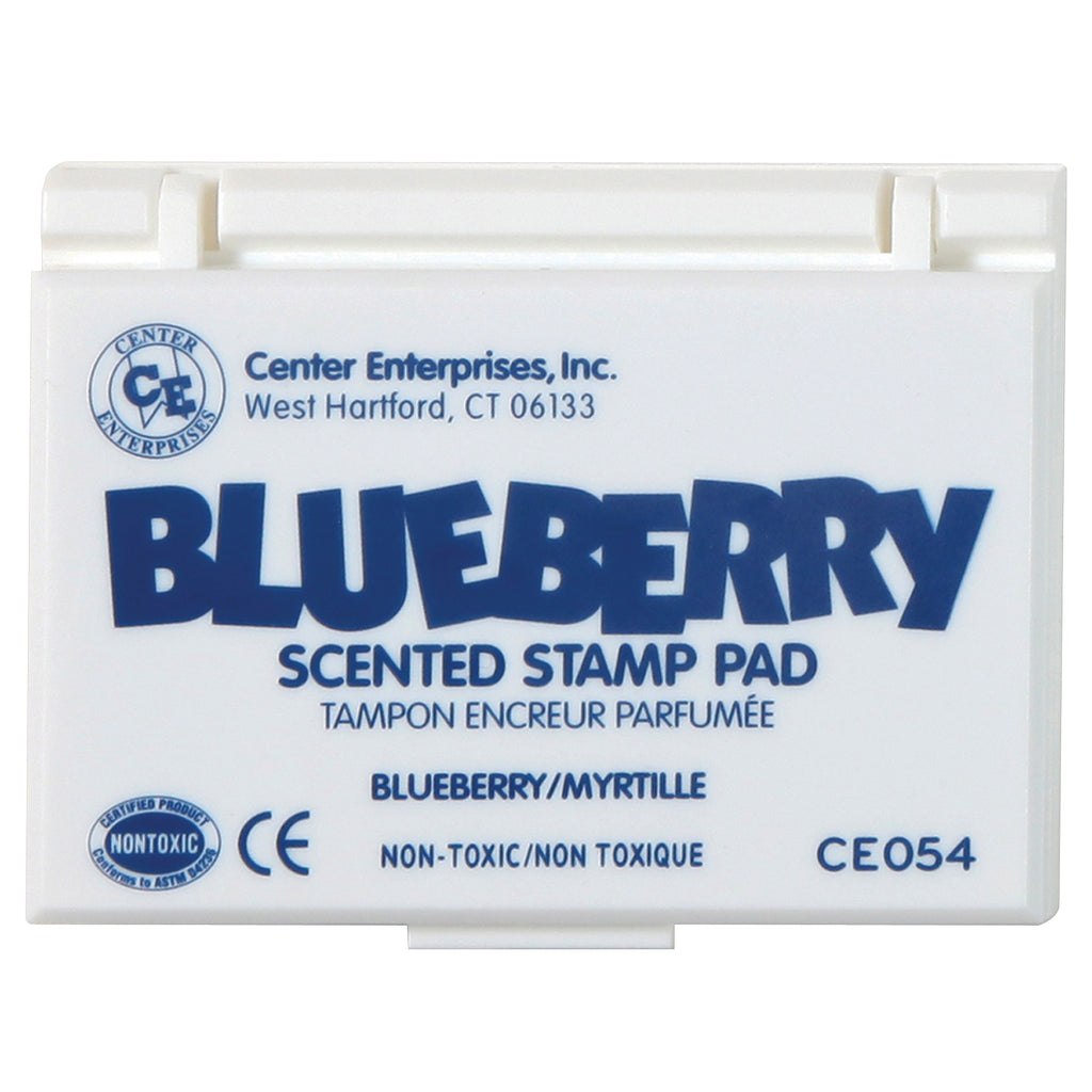 Center Enterprises Blueberry Scented Stamp Pad, Blue