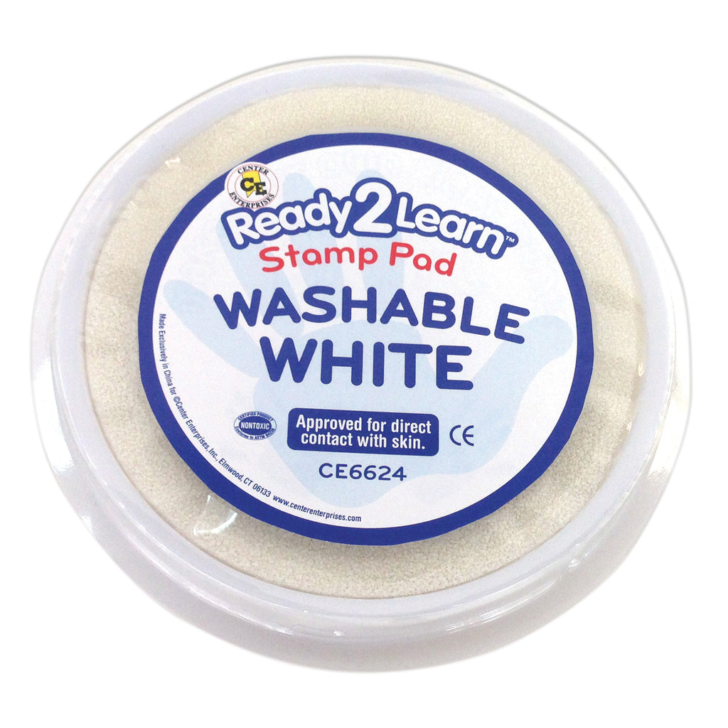 Center Enterprises Ready2Learn™ Washable Stamp Pad, White
