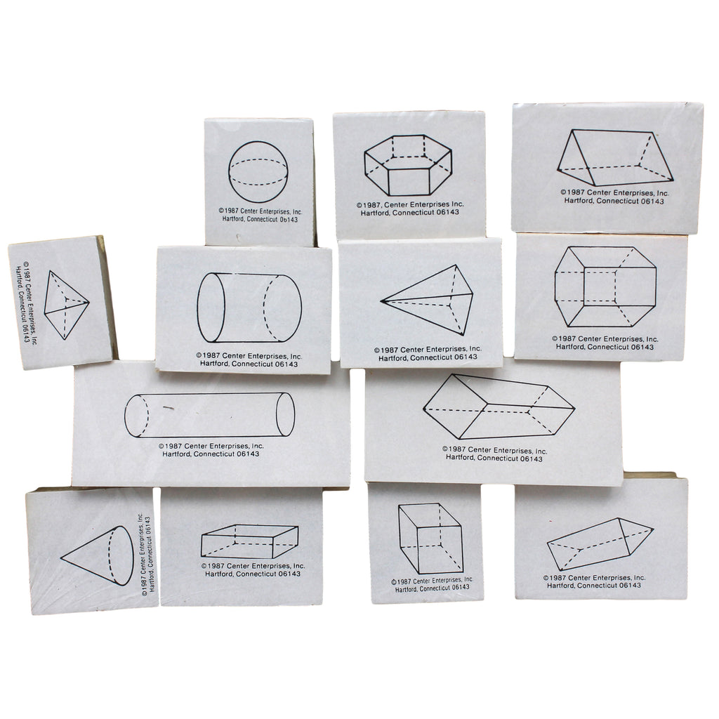 Center Enterprises Three Dimensional Geometric Stamps