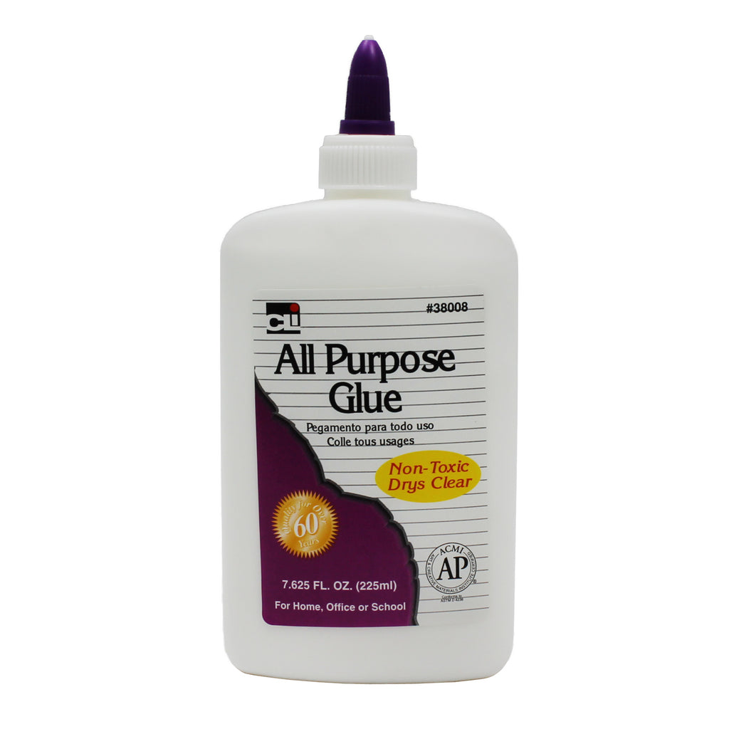 Charles Leonard All Purpose Glue, 7.625 Ounce Bottle